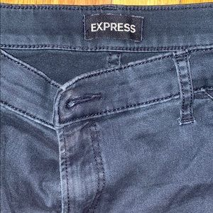 Black cargo jean